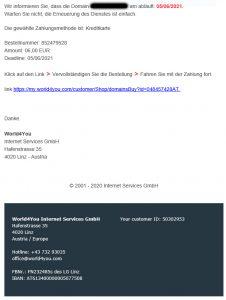 Fake-Mail World4You